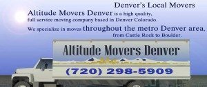 Moving Companies in Denver