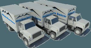 Three Moving Trucks