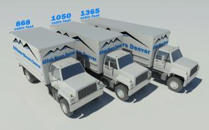 Denver Moving Truck Sizes